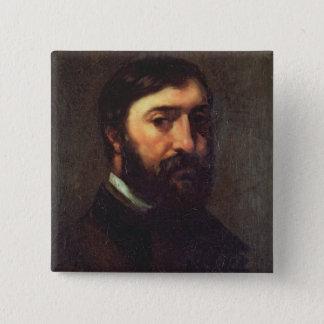 Portrait of Urbain Cuenot  1846 Button