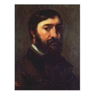 Portrait of Urbain Cuenot  1846 Postcard