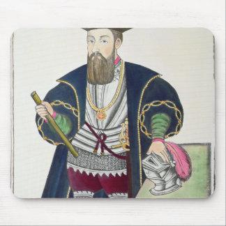 Portrait of Vasco de Gama Mousepad