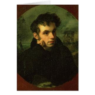 Portrait of Vassily Zhukovsky, 1816 Card