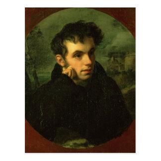 Portrait of Vassily Zhukovsky, 1816 Postcard