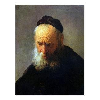 Portrait of Vaters by Rembrandt Postcard