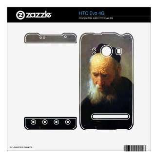 Portrait of Vaters by Rembrandt HTC Evo 4G Decal