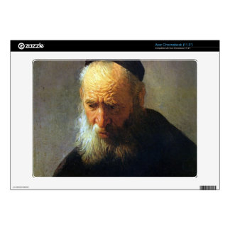 Portrait of Vaters by Rembrandt Decal For Acer Chromebook
