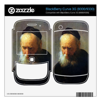 Portrait of Vaters by Rembrandt BlackBerry Curve Decal
