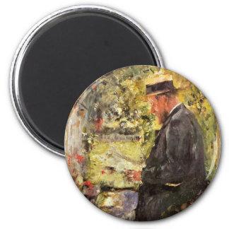 Portrait Of Veterinarian Dr. Reindl In The Arbor Fridge Magnets