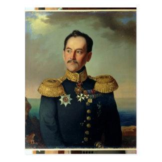 Portrait of Vice-admiral Nikolai Postcard