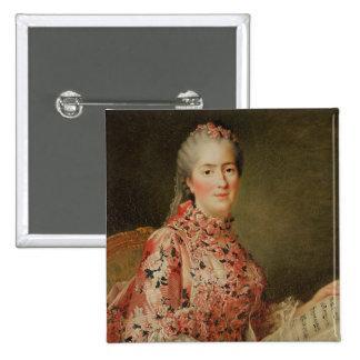 Portrait of Victoire of France Pinback Button