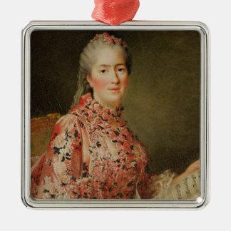 Portrait of Victoire of France Metal Ornament