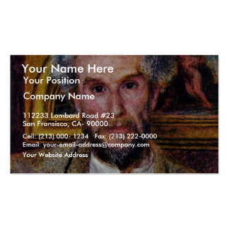 Portrait Of Victor Chocquet By Pierre-Auguste Business Card