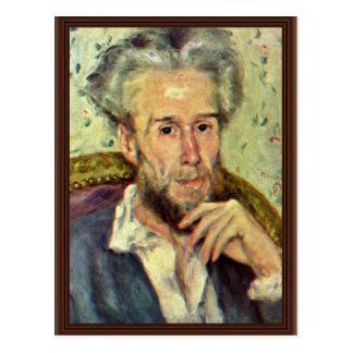 Portrait Of Victor Chocquet By Pierre-Auguste Postcard
