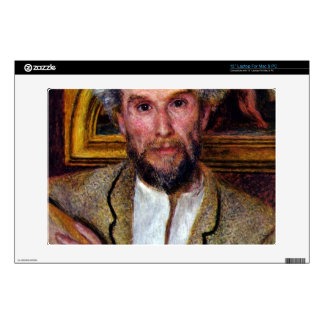 Portrait of Victor Chocquet by Pierre Renoir Skin For Laptop