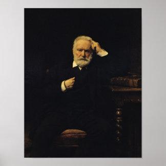 Portrait of Victor Hugo  1879 Poster