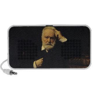 Portrait of Victor Hugo  1879 Laptop Speakers