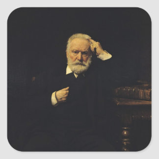 Portrait of Victor Hugo  1879 Sticker