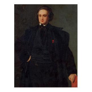 Portrait of Victor Hugo , c.1833 Post Cards