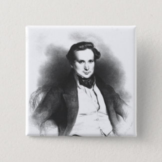 Portrait of Victor Hugo Pinback Button