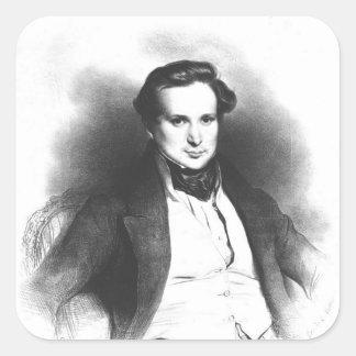 Portrait of Victor Hugo Stickers