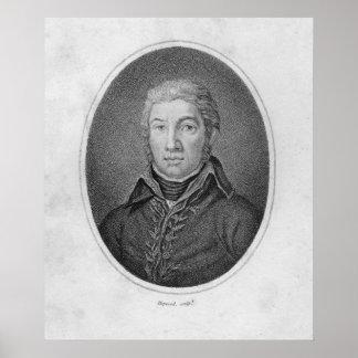 Portrait of Victor Moreau Poster