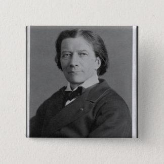 Portrait of Victorien Sardou Button