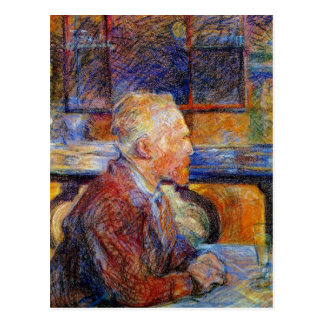 Portrait of Vincent Van Gogh Postcard