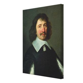Portrait of Vincent Voiture  c.1643-44 Canvas Print