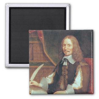 Portrait of Vincent Voiture Fridge Magnets