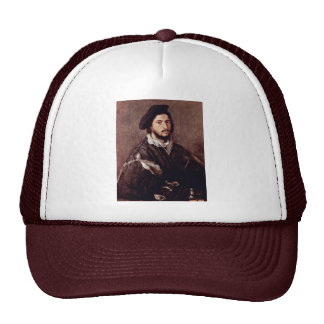 Portrait Of Vincenzo Mosti By Tizian Trucker Hat
