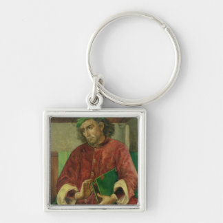 Portrait of Virgil , c.1475 Keychain