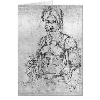Portrait of Vittoria Colonna Card