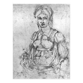 Portrait of Vittoria Colonna Postcard