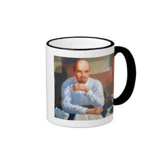 Portrait of Vladimir Ilyich Lenin , 1934 Ringer Coffee Mug