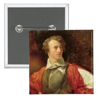 Portrait of Vladimir Samoylov as Hamlet Pinback Button