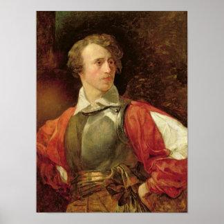Portrait of Vladimir Samoylov as Hamlet Poster