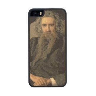 Portrait of Vladimir Sergeyevich Solovyov , 1895 Carved® Maple iPhone 5 Slim Case