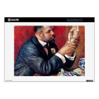 Portrait of Vollard by Pierre Renoir Acer Chromebook Decal