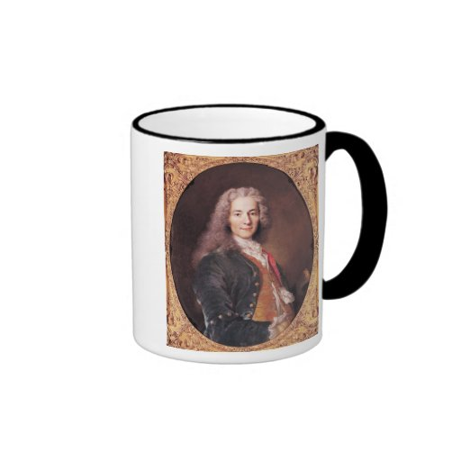 Portrait of Voltaire  aged 23, 1728 Coffee Mugs