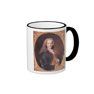 Portrait of Voltaire  aged 23, 1728 Ringer Coffee Mug