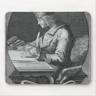 Portrait of Voltaire at Ferney Mouse Pad