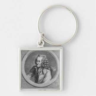 Portrait of Voltaire, from a drawing Keychain