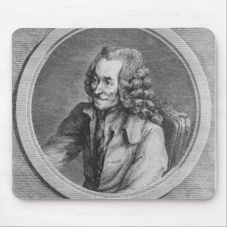 Portrait of Voltaire, from a drawing Mouse Pad