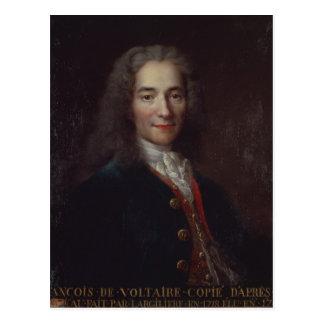 Portrait of Voltaire Post Cards