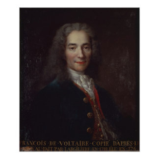 Portrait of Voltaire Posters