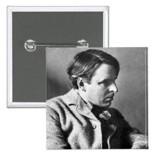 Portrait of W.B. Yeats Pinback Buttons