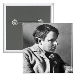 Portrait of W.B. Yeats Pinback Button