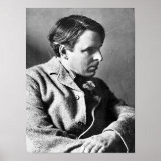 Portrait of W.B. Yeats Print