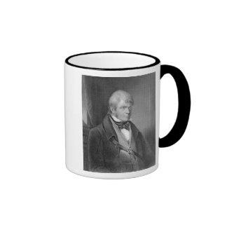 Portrait of Walter Scott Ringer Coffee Mug