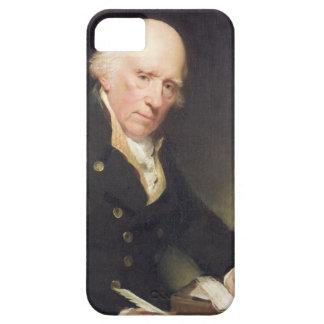 Portrait of Warren Hastings (1732-1818) at his Des iPhone SE/5/5s Case