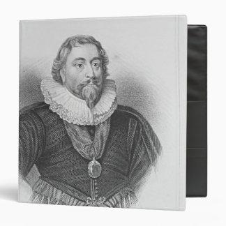 Portrait of Weston 'Lodge's British Portraits' 3 Ring Binder