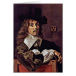 Portrait Of Willem Coymans. By Frans Hals Greeting Card